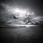 Abandoned Croft Uist in Infra Red