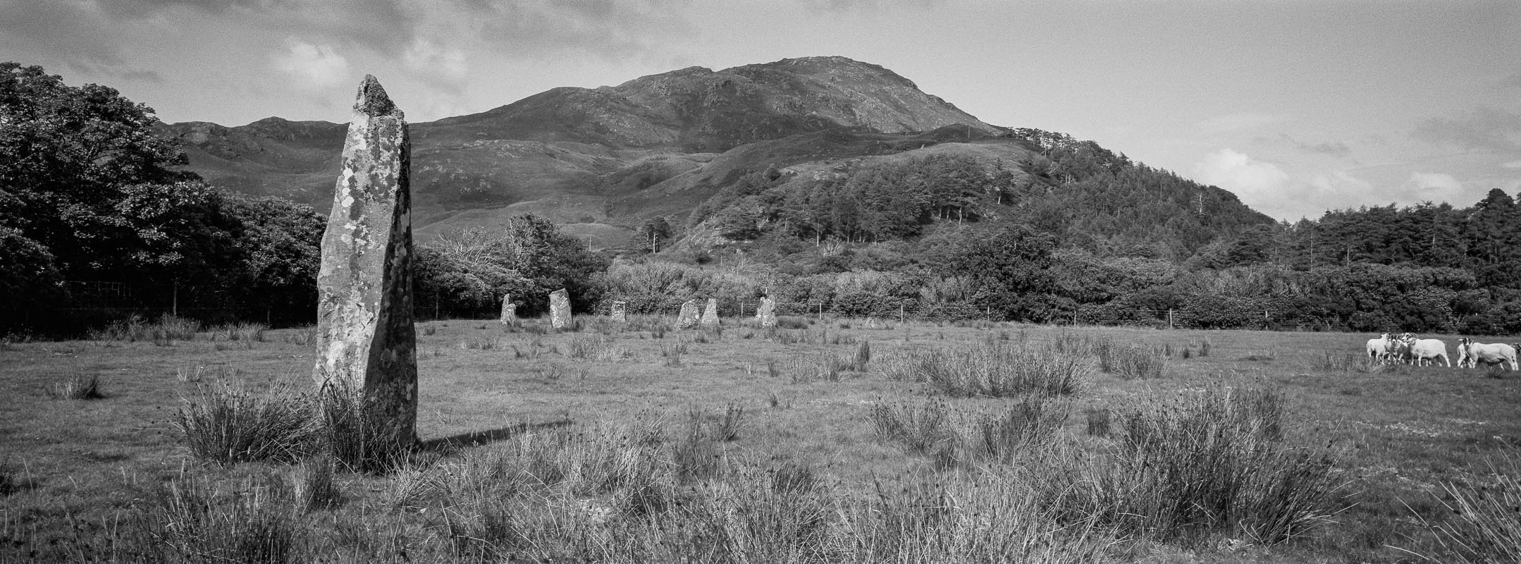 Loch Buie Stone Circle and Outlier